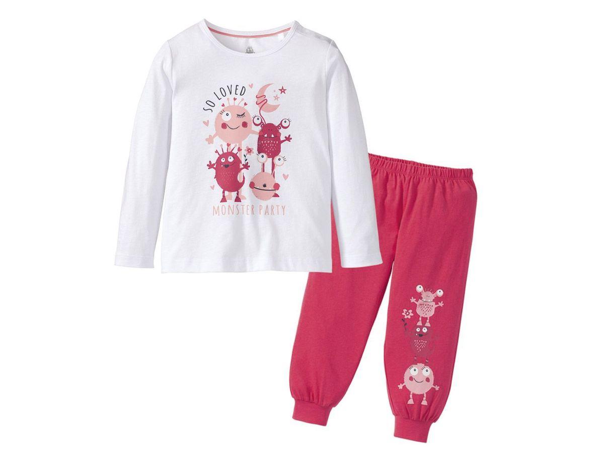 Bild 3 von LUPILU® Kleinkinder Mädchen Schlafanzug