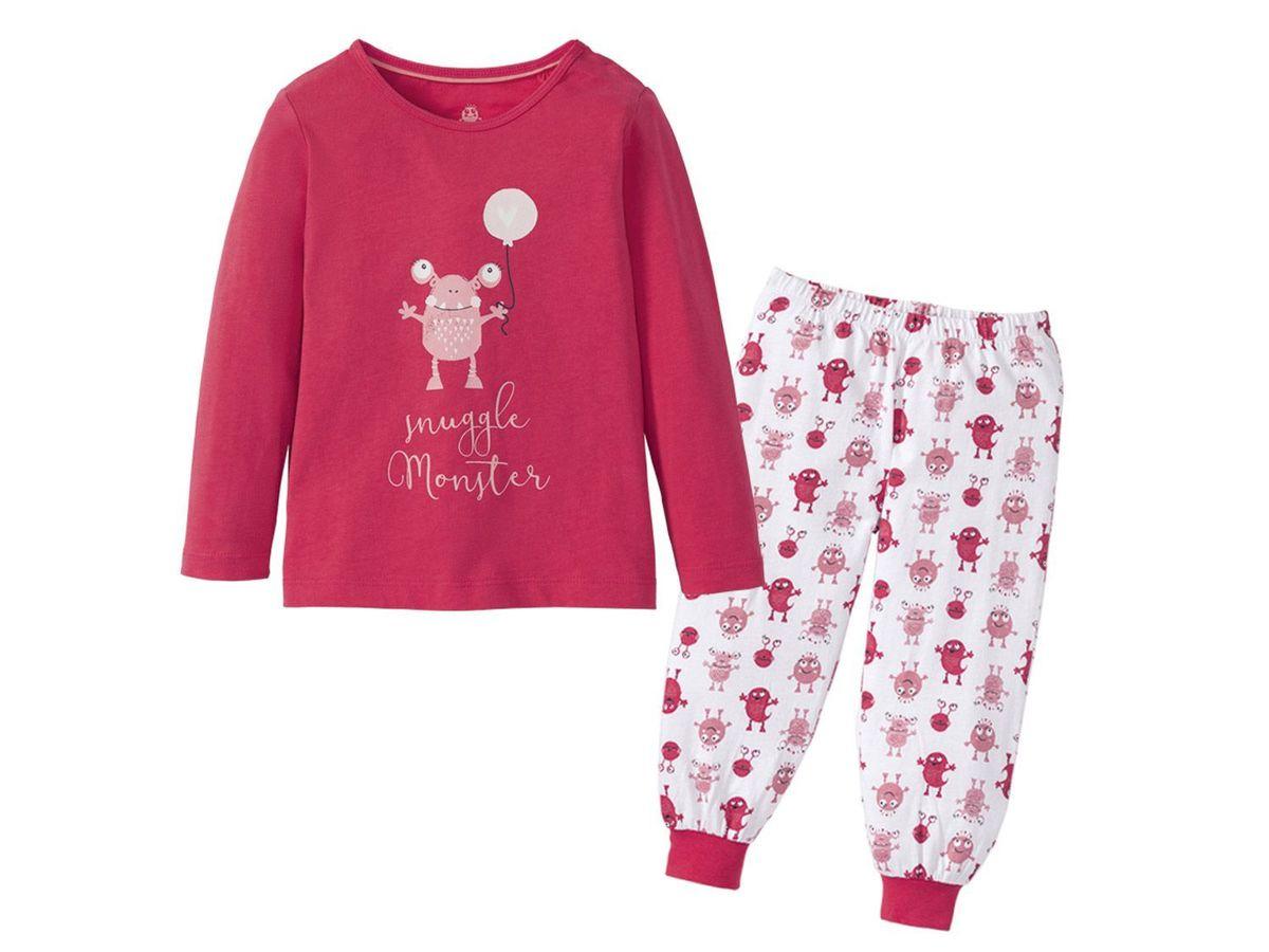 Bild 4 von LUPILU® Kleinkinder Mädchen Schlafanzug