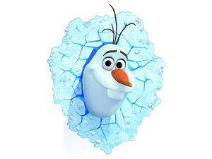 PHILIPS 3D Wall Light Disney Frozen Olaf
