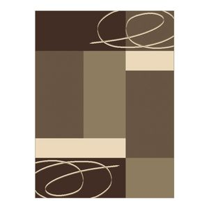 Teppich Grafik Brown - 70 x 140 cm, Hanse Home Collection