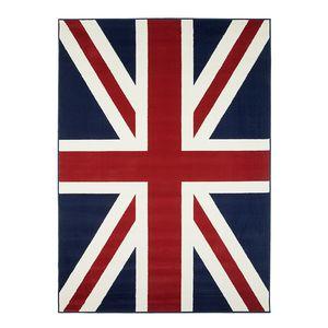 Teppich Union Jack - 140 x 200 cm, Hanse Home Collection