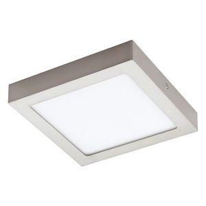 EEK A+, LED-Deckenleuchte Fueva IV - Kunststoff / Metall - 1-flammig - 22.5 - Aluminium / Weiß, Eglo