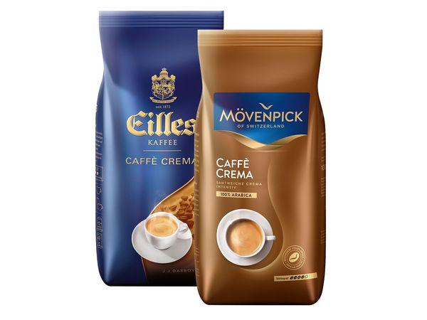 Mövenpick Caffè Crema/ Eilles Kaffee Ganze Bohnen