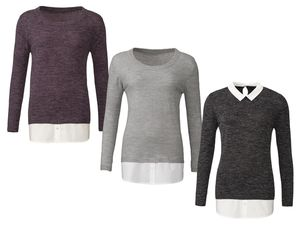 ESMARA® Damen Blusen-Pullover