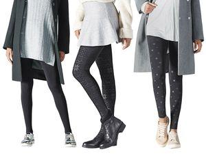 ESMARA® Damen Thermo-Leggings/ Strumpfhosen