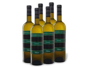 6 x 0,75-l-Flasche Weinpaket Masseria Metrano Fiano Salento IGT, Weißwein