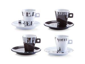 Zeller Espressotassen-Set Coffee style