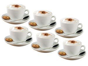 Esmeyer Cappuccino-Tassen, 6er Set