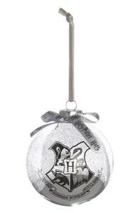 """Harry Potter"" Glitzer-Baumkugel, silber"