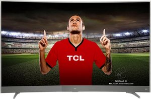 TCL U65P6096 Curved-LED-Fernseher (65 Zoll, 4K Ultra HD, Smart-TV)