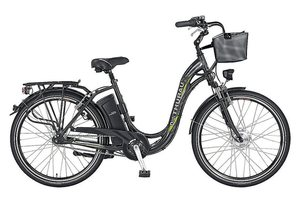 E-Bike City, 28 Zoll, 3 Gang-SHIMANO-Nabenschaltung, »Alu-City Comfort«, Didi Thurau Edition
