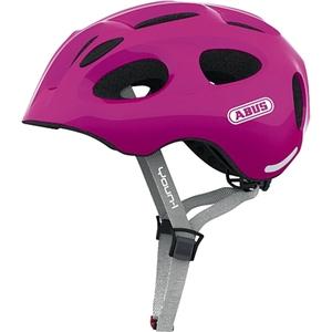 ABUS - Fahrradhelm Youn-I, Pink, Gr. M