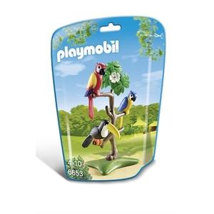 PLAYMOBIL - Papageien und Tukan im Baum - 6653