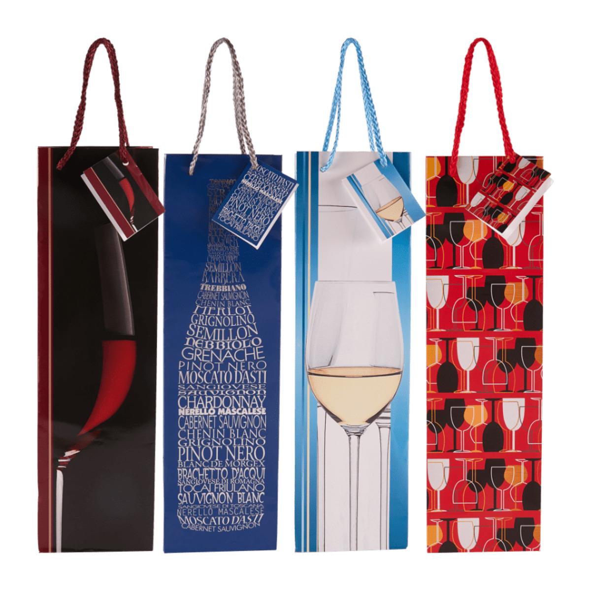 Bild 1 von LIVING ART     Flaschen-Geschenktaschen