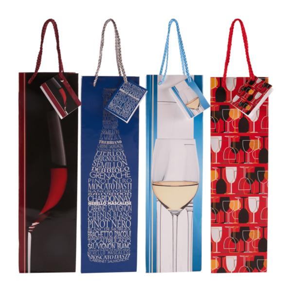 LIVING ART     Flaschen-Geschenktaschen