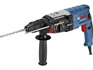 Bosch Bohrhammer GBH 2-28 F mit SDS-plus ,  inkl. 3 tlg. Bohrer-Set + L-Case