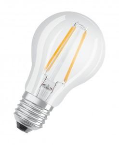 Osram LED Base Classic E27 5 er-Pack A 60 , Filament, klar ,  A 60 , Filament, klar