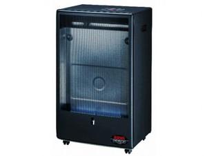 Rowi Gas-Heizofen HGO 4200 W mit Thermostat ,  Blue Flame Pro, schwarz