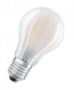 Osram LED Base Classic E27 5 er-Pack A 60 , Vollglas, matt ,  A 60 , Vollglas, matt