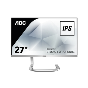 AOC PDS271 - 69 cm (27 Zoll), LED, IPS-Panel, 4 ms, HDMI, Design by Studio F.A. Porsche