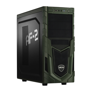 Hyrican Military PCK05848 Gaming-PC [Ryzen 5 2400G / 8GB RAM / 120GB SSD / 1TB HDD / Radeon Vega 11 / AMD A320 / Win10]