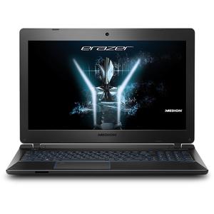 """MEDION ERAZER P6681 Gaming Notebook 15,6"""" Full HD IPS, Core i7-7500U, GTX 1050 4GB, 16GB, 256GB SSD + 1000GB HDD, Win10"""