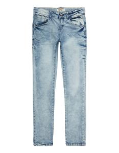 Jungen Bleached Skinny Fit 5-Pocket-Jeans
