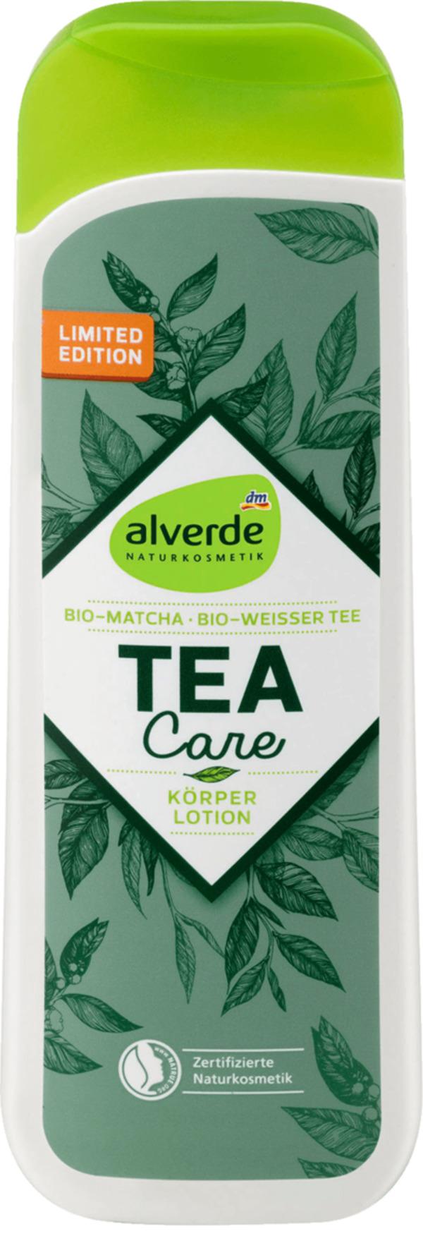 Alverde Naturkosmetik Tea Care Körperlotion Von Dm Für 195