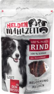 Dein Bestes Heldenmahlzeit Snack für Hunde, 100 % purer Rinderschlund