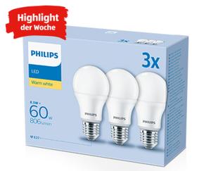 PHILIPS LED-Leuchtmittel, 3Stück