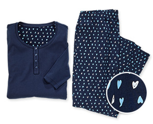 SkintoSkin Schlafanzug, großeMode