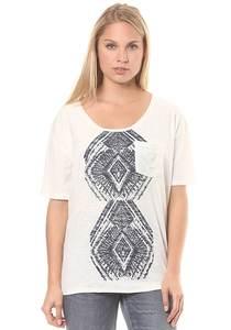 Roxy Wild Chaman - T-Shirt für Damen - Weiß