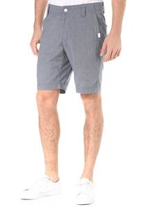 ragwear Karel Microchecks - Chino Shorts für Herren - Blau