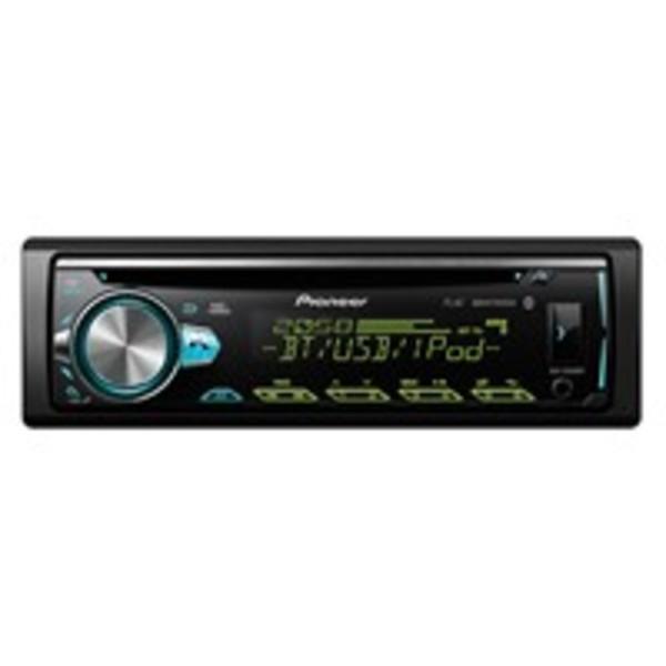 Pioneer DEH-S5000BT Autoradio mit CD-Tuner, Bluetooth, USB, Spotify, unterstützt Android (AOA 2.0) und iPhone (Direct Control), AUX-Anschluss, 1-DIN