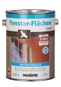 Primaster Fenster- und Flächenlasur | B-Ware