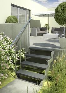 Dolle Außentreppe Gardentop Set 3   B-Ware