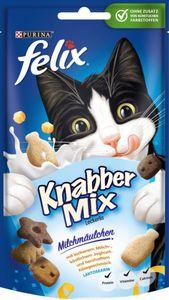 FELIX Katzensnacks KnabberMix Milchmäulchen, 60 g