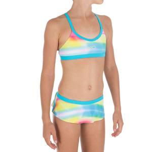 Bikini-Set Riana Skirt All Dye Mädchen rosa