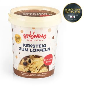 Spooning Cookie Dough Keksteig Chocolate Chips 170g