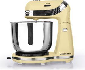 GOURMETmaxx Küchenmaschine Retro 250W, vanille