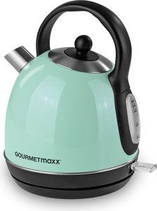 GOURMETmaxx Wasserkocher Retro 2200W mint
