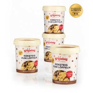 Spooning Cookie Dough Keksteig Chocolate Chips 4 x je 170g