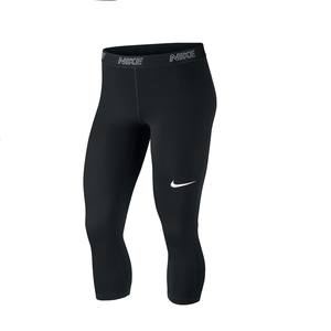 3/4-Hose Fitness Cardio-Training Damen schwarz