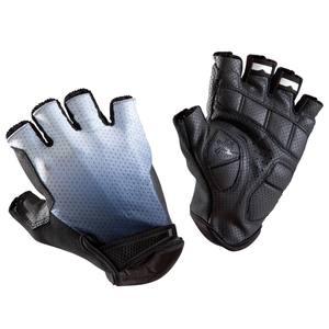 Fahrrad-Handschuhe Rennrad 900 weiß/blau/schwarz