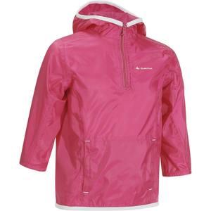 Wasserdichte Wanderjacke Raincut Regenjacke Kinder rosa