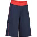 Bild 2 von Sporthose kurz S900 Gym Kinder blau/rot