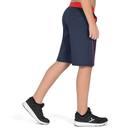 Bild 4 von Sporthose kurz S900 Gym Kinder blau/rot