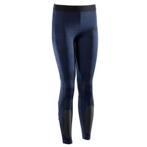 Leggings 500 Crosstraining Damen blau