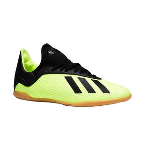 Hallenschuhe Futsal Fussball X Tango 18.3 Kinder gelb/schwarz