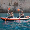 Bild 4 von Ärmelloser Noeprenanz Kajak und Stand Up Paddle 500 Neopren 2mm Herren grau/blau